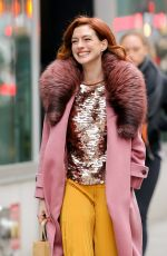 Anne Hathaway Out & about in New York City