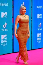 Anne-Marie At 2018 MTV Europe Music Awards in Bilbao, Spain