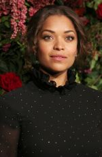 Antonia Thomas At Evening Standard Theatre Awards, London