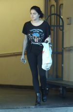 Ariel Winter Helps the homeless after shopping at CVS Pharmacy in Studio City