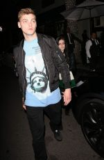 Ariel Winter Leaving Madeo restaurant in Beverly Hills
