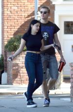 Ariel Winter Out with Levi Meaden in Studio City