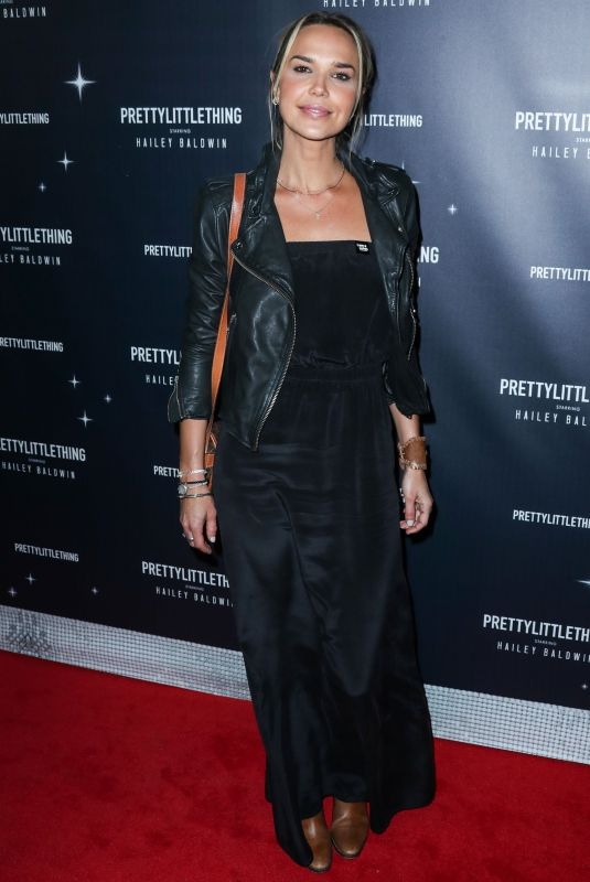 Arielle Kebbel At PrettyLittleThing x Hailey Baldwin launch event, Los Angeles