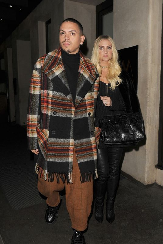Ashlee Simpson Out in London