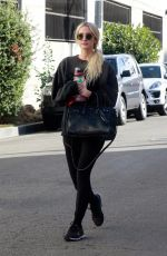 Ashlee Simpson Starting her day with a workout session in Studio City