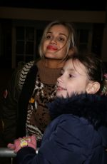 Ashley Roberts Arriving At The Big Blue Hotel In Blackpool