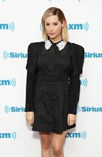 Ashley Tisdale At SiriusXM Studios in NYC