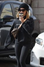 Ashley Tisdale Out in Studio City