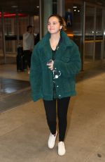 Bailee Madison Arriving at Pearson International Airport in Toronto