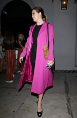 Bailee Madison In pink at Craig