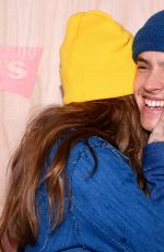 Barbara Palvin and Dylan Sprouse At Levi