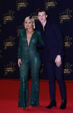 Bebe Rexha and Shawn Mendes At 20th annual NRJ Music Awards in Cannes, France