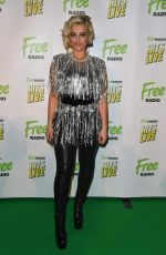 Bebe Rexha At Free Radio Live Hits Live concert at the Genting Arena in Birmingham