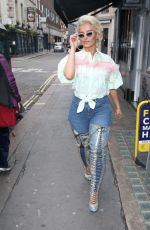 Bebe Rexha Out and about in London