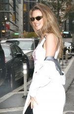 Behati Prinsloo Out in New York