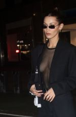 Bella Hadid Leaving her hotel in New York