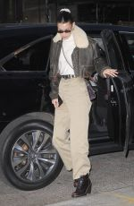 Bella Hadid Out and about, New York