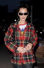 Bella Hadid Returning Home in New York