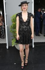 Bella Heathcote At Derby Day at Flemington Racecourse in Melbourne