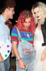 Bella Thorne Attended a Halloween party in Los Angeles