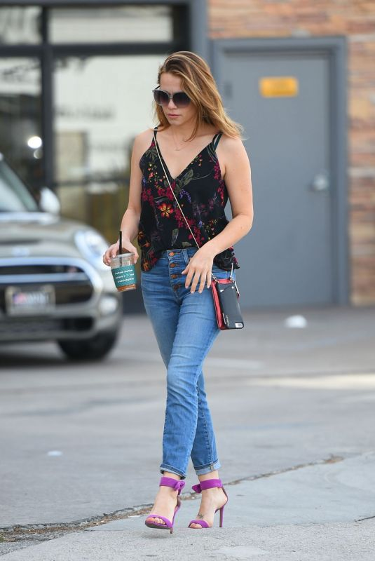 Bethany Joy Lenz Out in Los Angeles