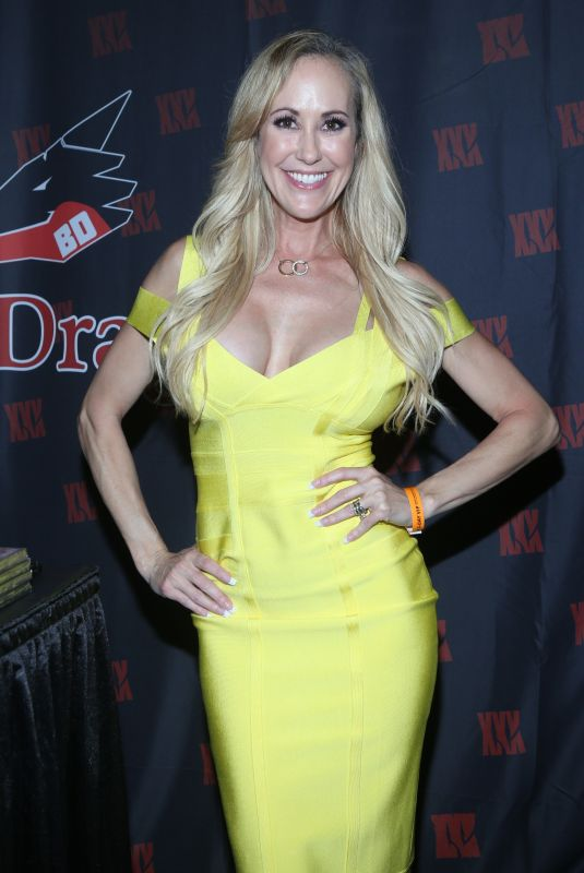 Brandi Love At EXXXOTICA Expo 2018 Day 1 at New Jersey Convention and Exposition Center