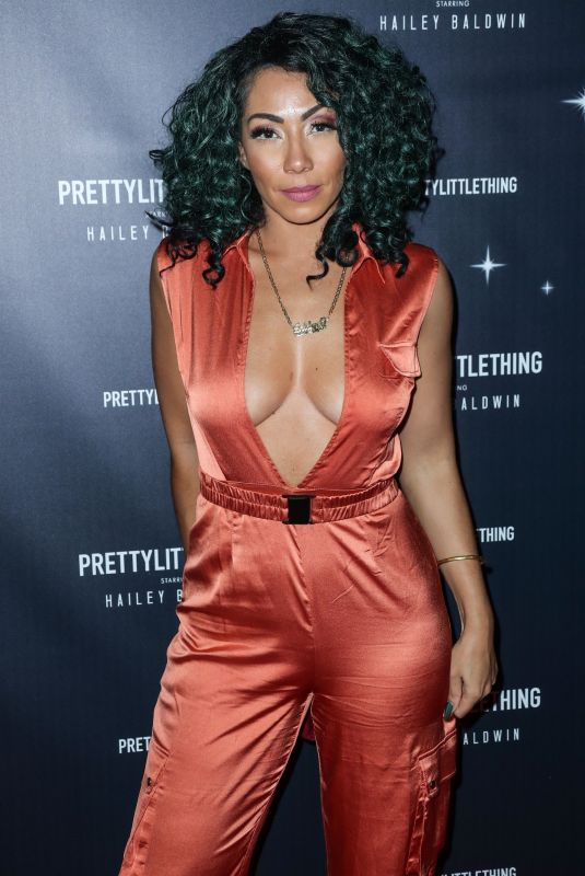 Bridget Kelly At PrettyLittleThing x Hailey Baldwin launch event, Los Angeles