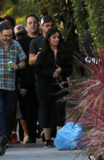 Camila Cabello Shooting a new music video in Los Angeles