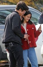 Camila Mendes Out in Vancouver