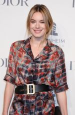 Camille Rowe At Guggenheim International Gala Pre-Party Made Possible BY Dior, New York