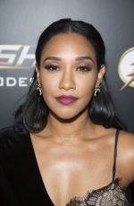 Candice Patton At Celebration of 100th Episode of CWs The Flash