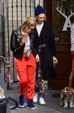Cara Delevingne & Ashley Benson Make a stop to grab their morning coffee in Studio City