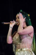 Cardi B Preforms during the 2018 Big Jam concert at the United Center in Chicago