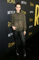 "Carla Gugino At ""Roma"" New York screening"