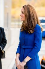 Catherine Duchess of Cambridge at Centre in Rotherham, England