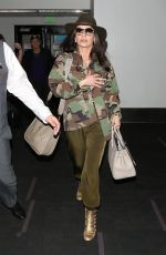 Catherine Zeta-Jones At LAX