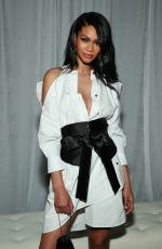 Chanel Iman At CFDA/Vogue Fashion Fund 15th Anniversary Event in Brooklyn
