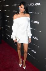 Chanel Iman At Fashion Nova x Cardi B event at Boulevard 3 in Hollywood