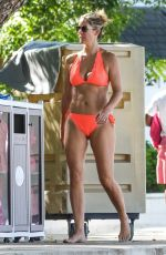 Chanelle McCoy On holiday at Sandy Lane Hotel in Barbados