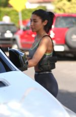 Chantel Jeffries Stays fit with a trip to the gym in West Hollywood