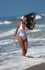 Charlie Riina At photoshoot for 138 Water with photographer Lee LHGFX in Santa Monica
