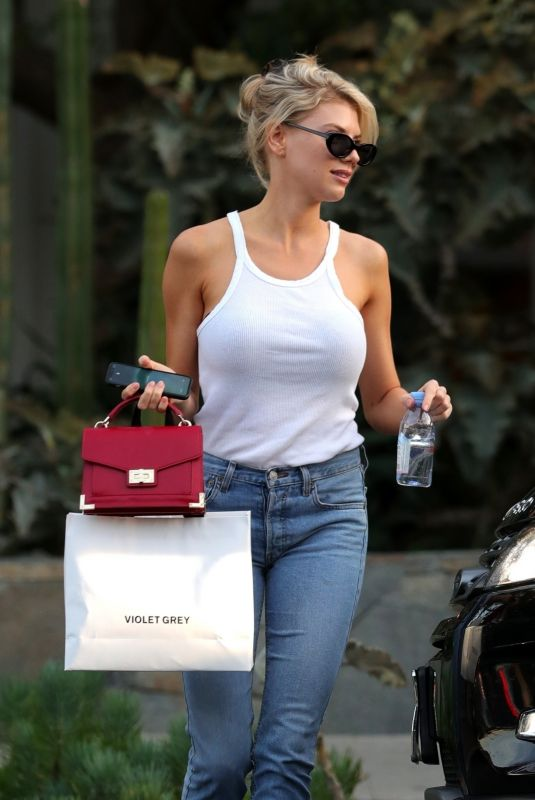 Charlotte McKinney In Jeans out shopping in West Hollywood