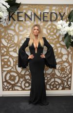 Cheyenne Tozzi At Derby Day at Flemington Racecourse in Melbourne