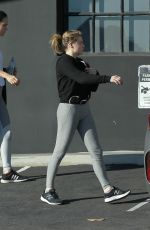 Chloe Grace Moretz Leaving the gym in Los Angeles