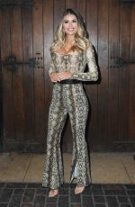 Chloe Sims At Launch party of new feminine care brand Woo Woo at The Box Soho in London