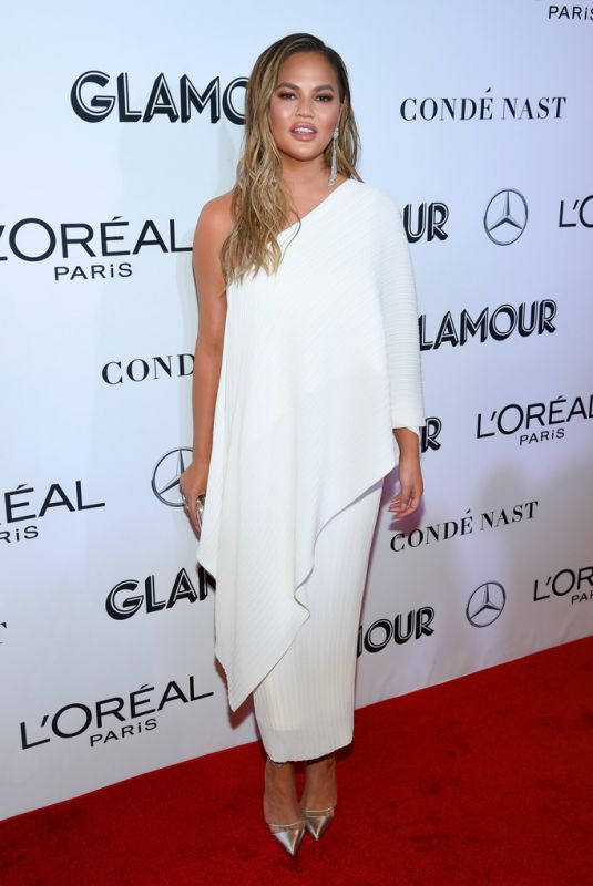 Chrissy Teigen At 2018 Glamour Women Of The Year Awards: Women Rise in NYC