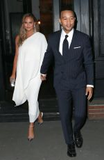 Chrissy Teigen Heads to the Glamour Awards in New York