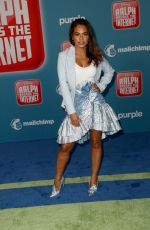 """Christina Milian At """"Ralph Breaks the Internet"""" premiere in Los Angeles"""