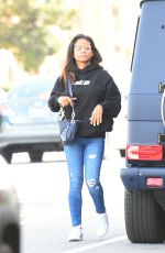 Christina Milian Dresses casually to run errands in Los Angeles
