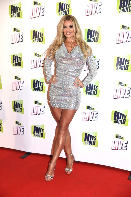 Christine McGuinness & Rachel Lugo At Hits Radio Live 2018 in Manchester Arena